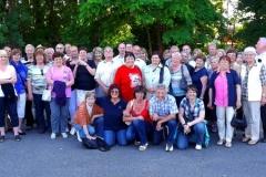 Gruppenfoto Ausflug 2012